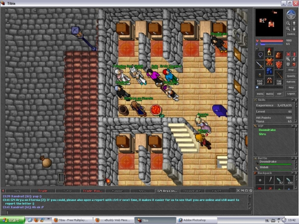 Old tibia times